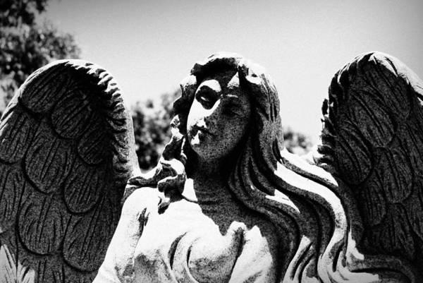 Long Haired Angel Art Print