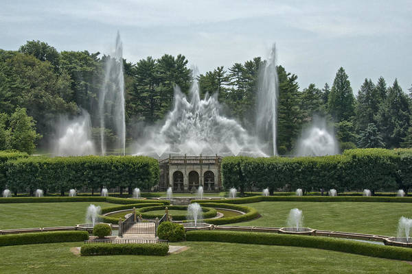 Longwood Gardens Photograph - Longwood Fountain Visit Www.angeliniphoto.com For More by Mary Angelini