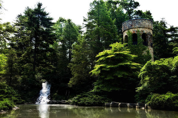 Longwood Gardens Photograph - Longwood Garden Castle by Bill Cannon
