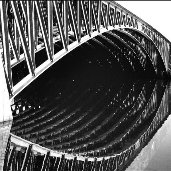Road Photograph - Look Here! #eye #bridge #lines by Robbert Ter Weijden