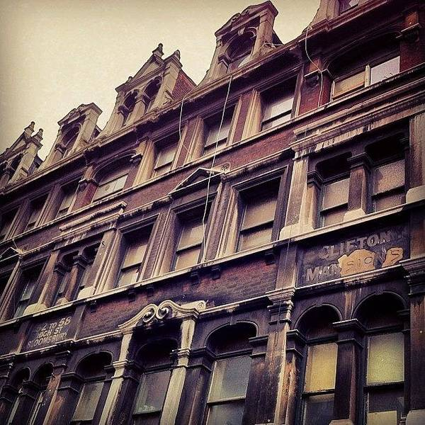 London Photograph - Look Up by Samuel Gunnell