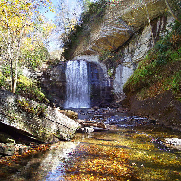 Photograph - Looking Glass Falls In The Fall by Duane McCullough