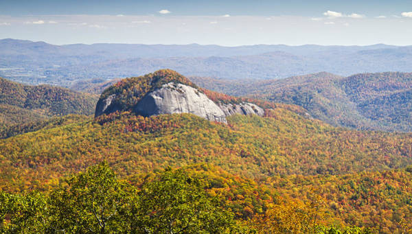 Photograph - Looking Glass Rock Blue Ridge Parkway by Pierre Leclerc Photography
