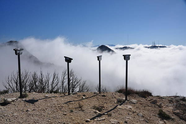 Mount Hagen Photograph - Looking Into The Clouds by Herman Hagen