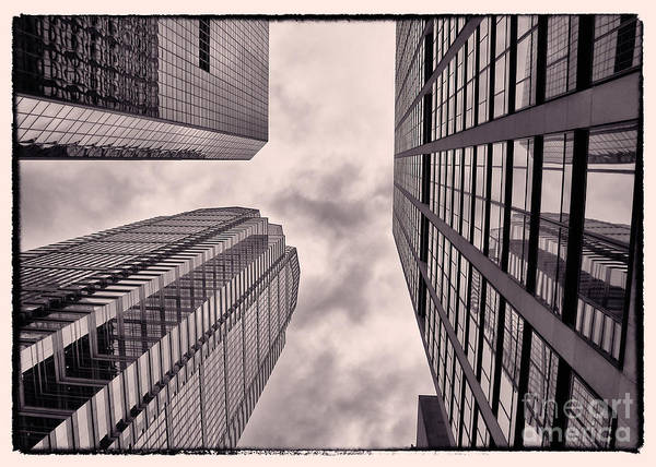 Wall Art - Photograph - Looking Up In Philadelphia 3 by Jack Paolini