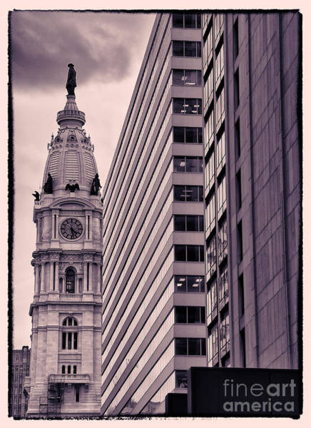 Wall Art - Photograph - Looking Up In Philadelphia 7 by Jack Paolini