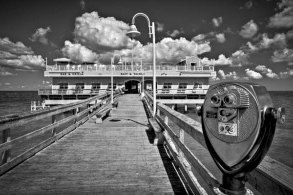 Photograph - Lookout At Oceanview Fishing Pier by Williams-Cairns Photography LLC