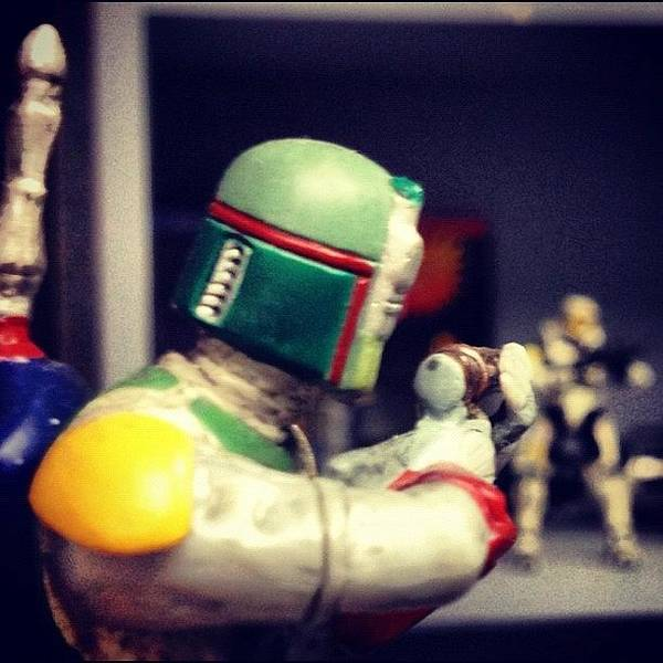 Toy Gun Photograph - Looks Like Boba Fett Is About To Get by Seth Tours