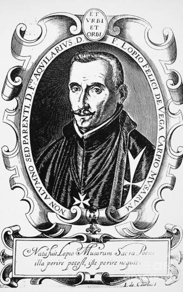 Photograph - Lope De Vega (1562-1635) by Granger