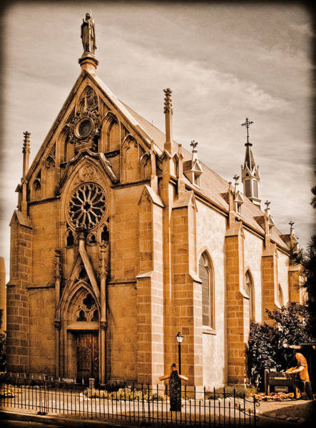 Photograph - Loretto Chapel by Mark Forte