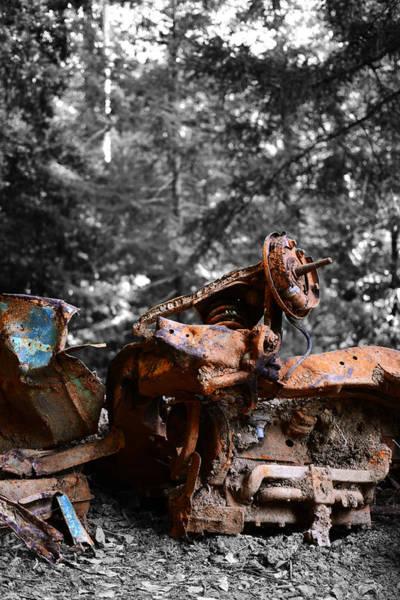 Photograph - Lost And Forgotten by Matt Hanson