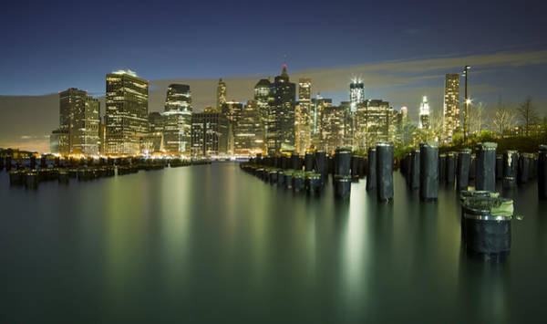 City Lights Wall Art - Photograph - Lost In Yesterday by Evelina Kremsdorf