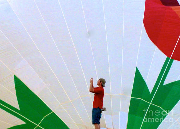 Photograph - Lost Infront Of The Balloon by Mark Dodd