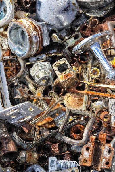 Scrap Iron Digital Art - Lost by John Monteath
