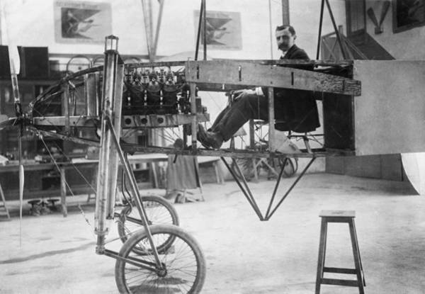 Bleriot Photograph - Louis Bleriot 1872-1936 Seated by Everett
