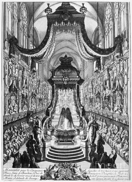 Wall Art - Photograph - Louis, Duke Of Burgundy by Granger