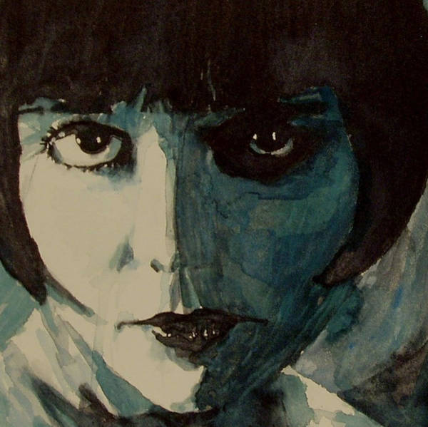 Brook Painting - Louise Brooks by Paul Lovering