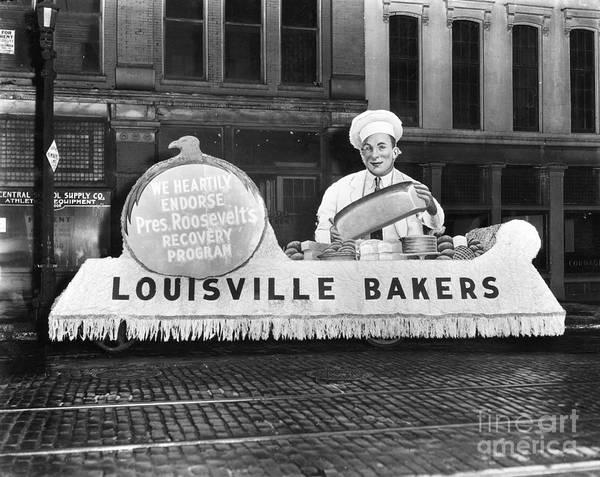 Photograph - Louisville: Parade, C1933 by Granger