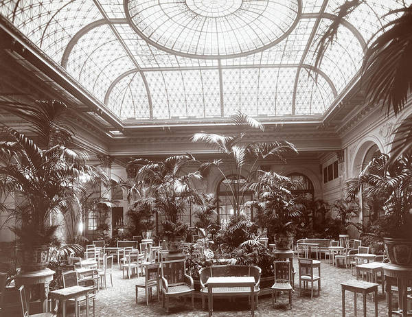 The Past Photograph - Lounge At The Plaza Hotel by Henry Janeway Hardenbergh