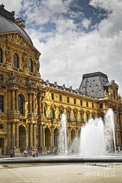 Wall Art - Photograph - Louvre by Elena Elisseeva