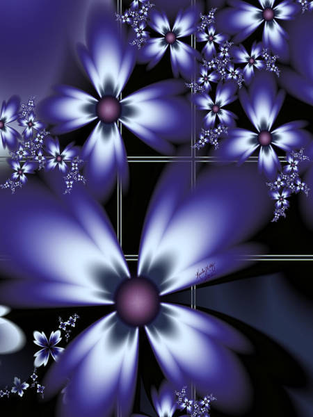 Digital Art - Lovely Lavender by Karla White