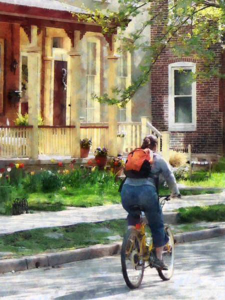 Photograph - Lovely Spring Day For A Ride by Susan Savad