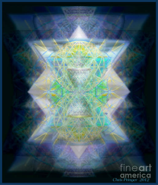 Digital Art - Love's Chalice From The Druid Tree Of Life by Christopher Pringer