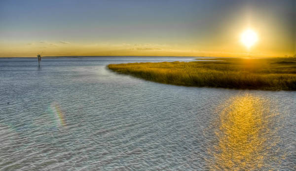 Wall Art - Photograph - Low-country Waterway by Drew Castelhano