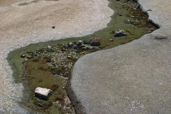 Photograph - Low Tide Water 3 by David Kleinsasser