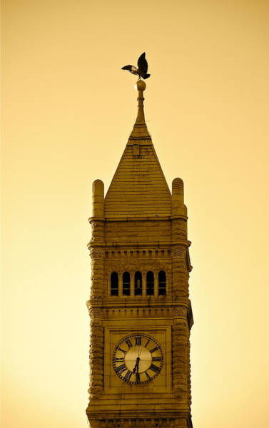 Photograph - Lowell Clock Tower II by Mary McAvoy