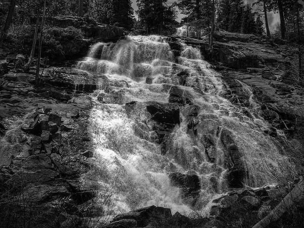 Photograph - Lower Eagle Falls Lake Tahoe by Scott McGuire