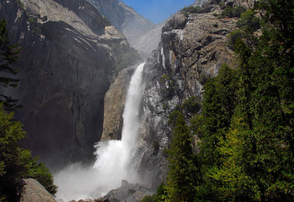 Photograph - Lower Yosemite Falls 2 by Lynn Bauer