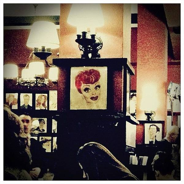 Celebrity Wall Art - Photograph - Lucille Ball by Natasha Marco