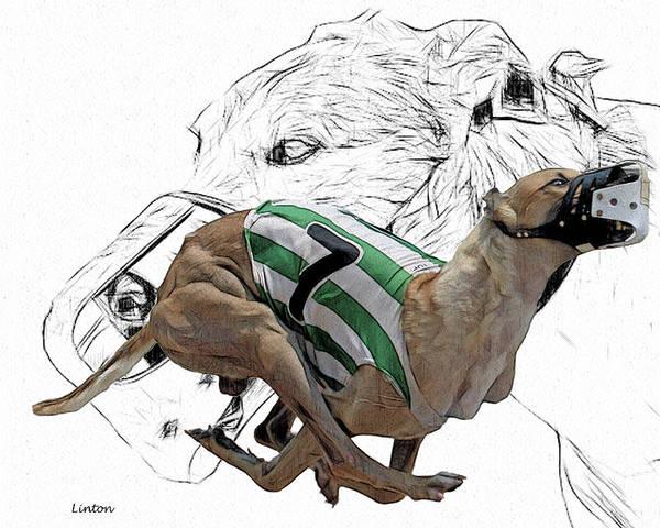Digital Art - Lucky Seven 2 by Larry Linton