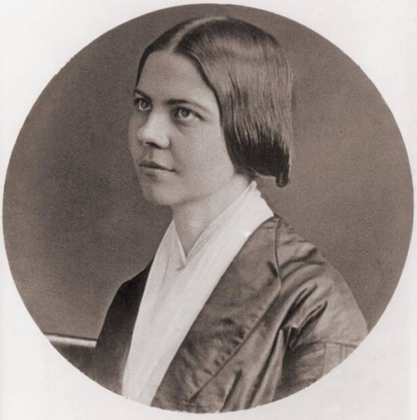 Temperance Movement Photograph - Lucy Stone, 1818-1893, American by Everett