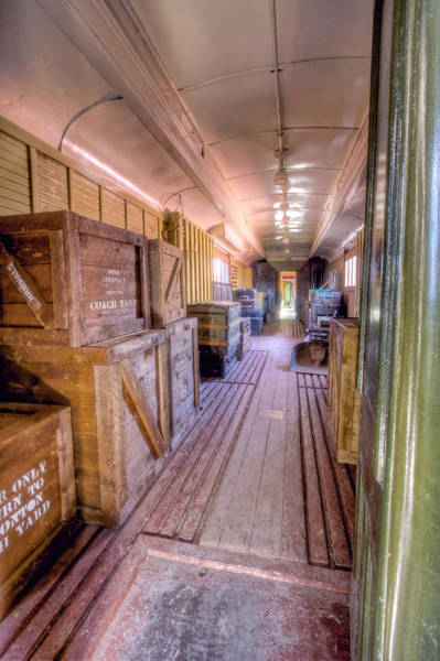 Photograph - Luggage Car by Colette Panaioti