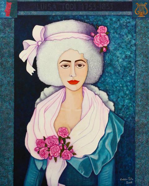 Luisa Todi - Remembered Across The Centuries Art Print