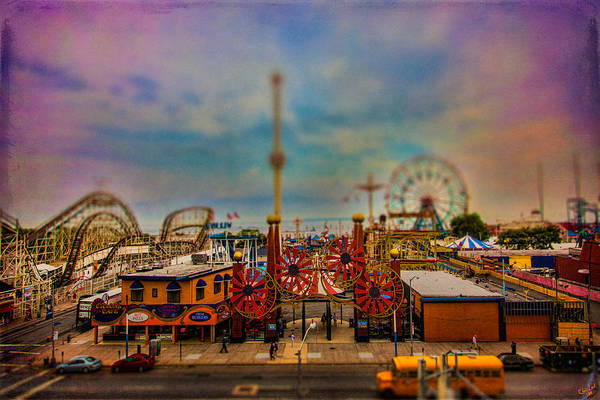 Photograph - Luna Park-a-rama by Chris Lord