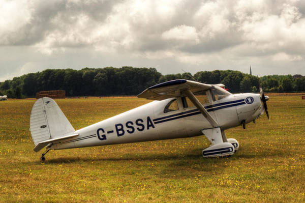 Nikon D5000 Photograph - Luscombe 8e Deluxe 2 Seater Plane by Chris Day
