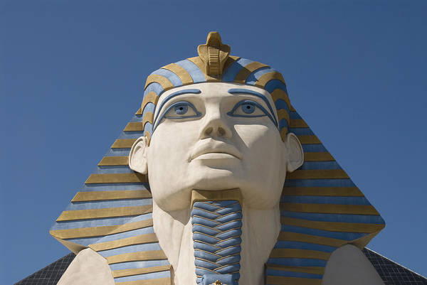 Wall Art - Photograph - Luxor Sphinx II by Gloria & Richard Maschmeyer