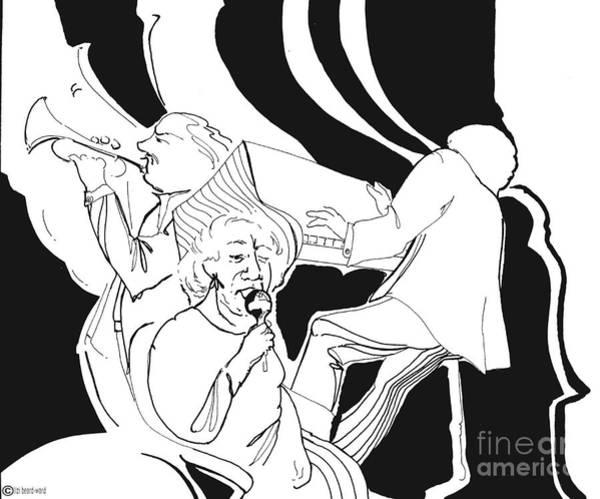 Drawing - Ma Blues by Lizi Beard-Ward
