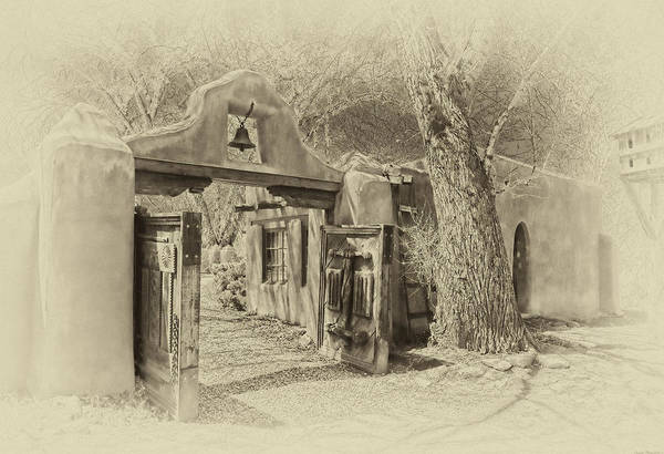 Photograph - Mabel's Gate As Antique Print by Charles Muhle