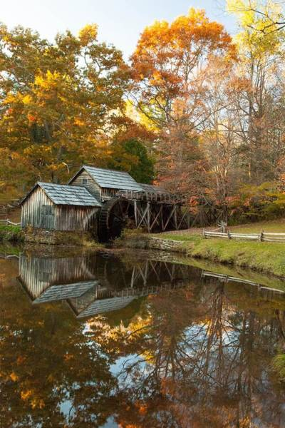Photograph - Mabry Mill by Doug McPherson