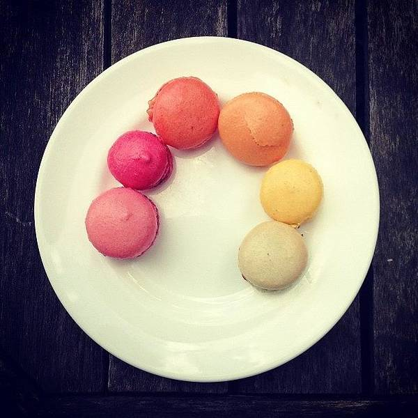 Wall Art - Photograph - Macaroons by Nic Squirrell