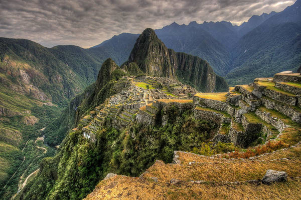 Photograph - Machu Picchu by Andy Bitterer