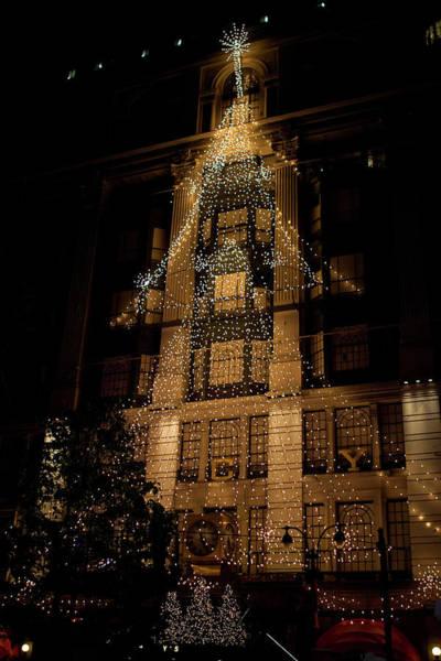 Photograph - Macy's Ny Christmas Lights by Lorraine Devon Wilke