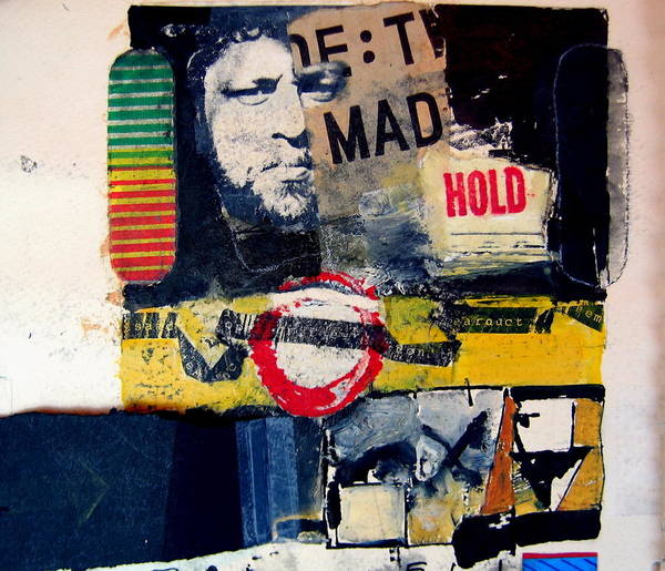 Painting - Mad Hold by Cliff Spohn