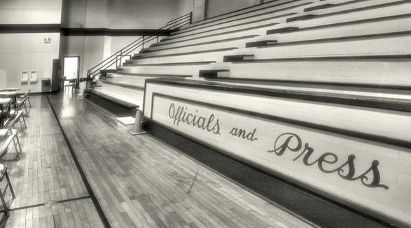 Wall Art - Photograph - Madison High Gym I by Steven Ainsworth