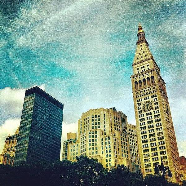 Skyline Wall Art - Photograph - Madison Square Park. #nyc #manhattan by Luke Kingma