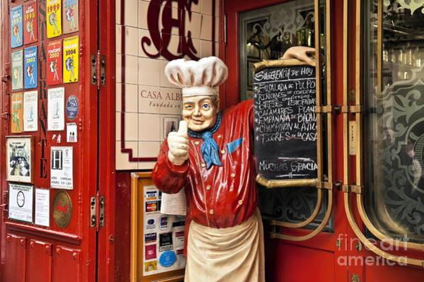 Taverna Photograph - Madrid Tapas Restaurant by John Greim